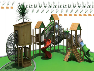 木制滑梯系列