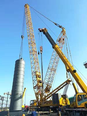承德450吨履带吊