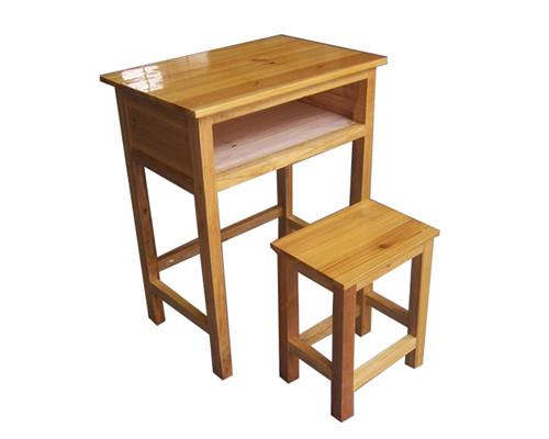 貴陽實木課桌椅
