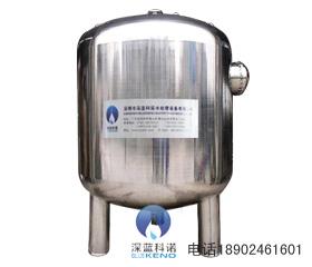 大型不鏽鋼景觀水專用精濾機