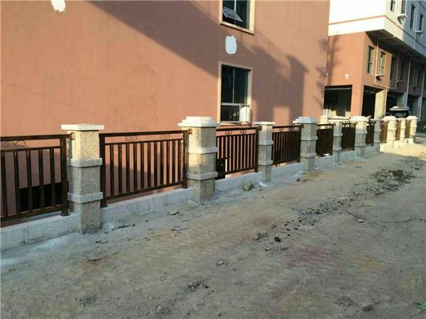 遵义铁艺围墙栏杆