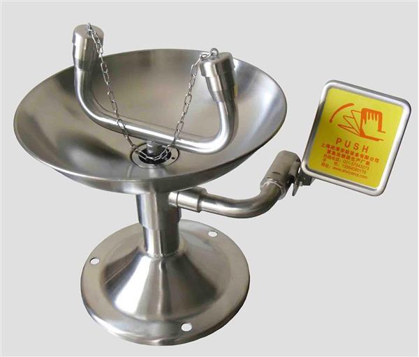 不锈钢紧急洗眼器