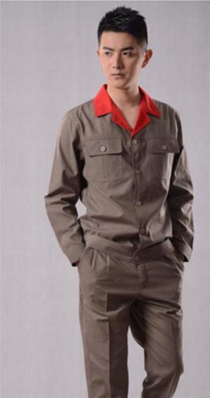 黄石613款夏装长袖工作服