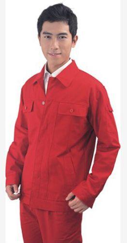 大红工作服