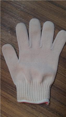 十堰红边线手套