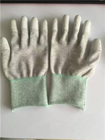 灰涂指手套