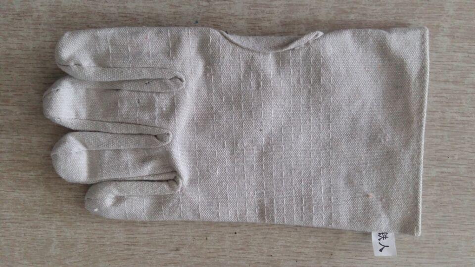 铁人帆布手套