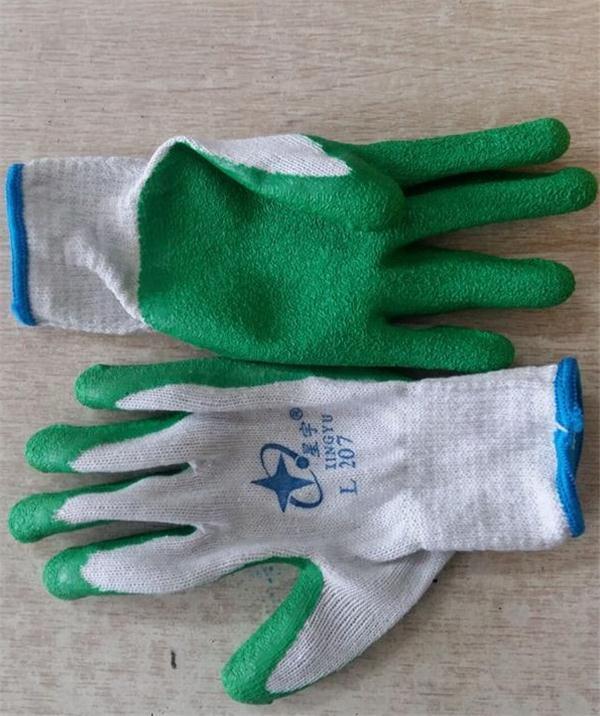 天然乳胶浸渍手套