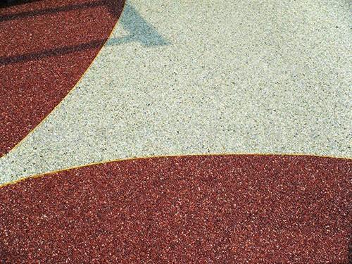 胶黏石地坪