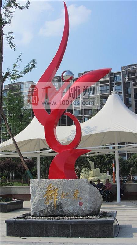 成都不锈钢雕塑公司