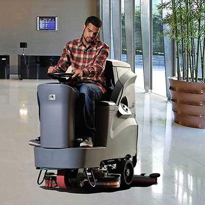 保定驾驶式洗地机