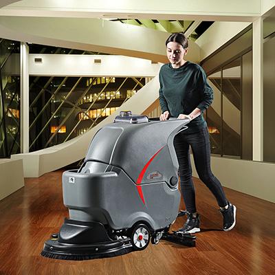 智慧型手推式洗地车