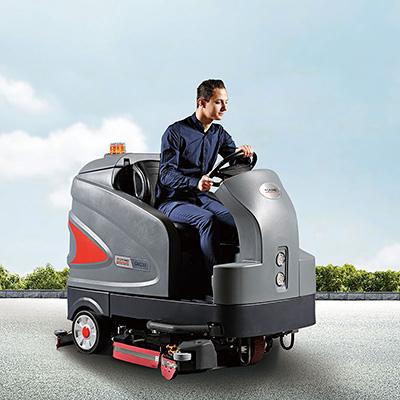 智慧型驾驶式洗地车