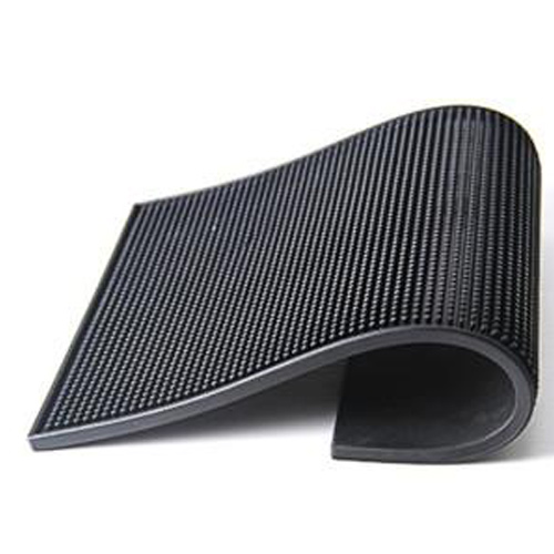天然发泡橡胶布面吧台垫