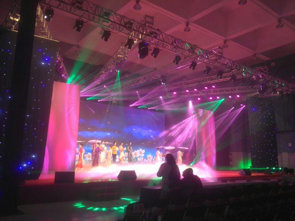 上海灯光音响舞台搭建