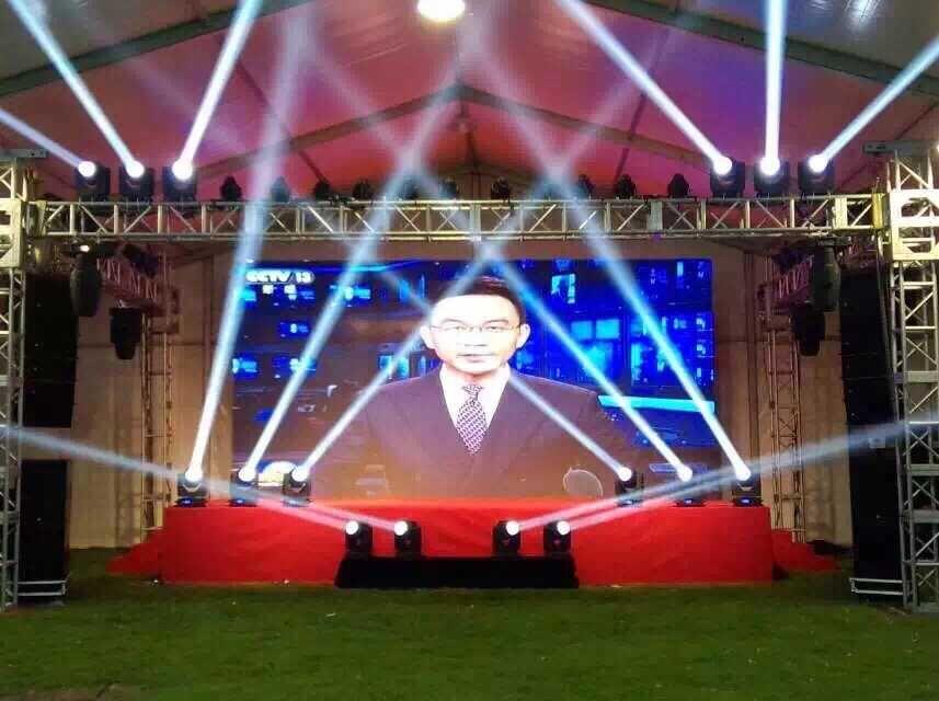 上海LED大屛桁架舞台搭建