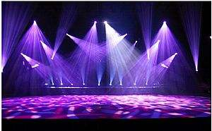 上海灯光音响LED大屏搭建