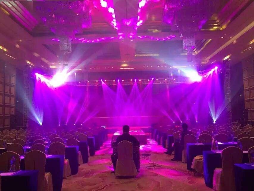 上海灯光音响高清LED大屏搭建