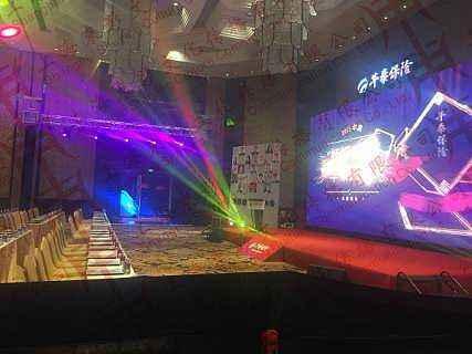 上海展览灯光音响大屏搭建