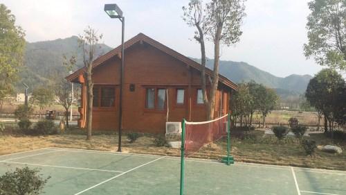 武汉防腐木木屋