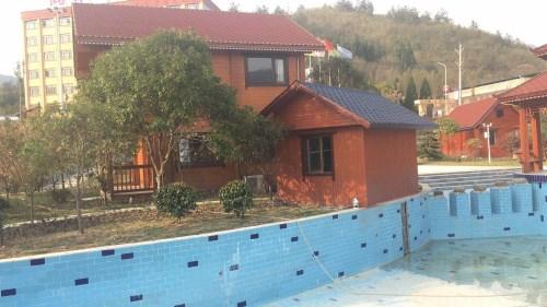防腐木生态木屋