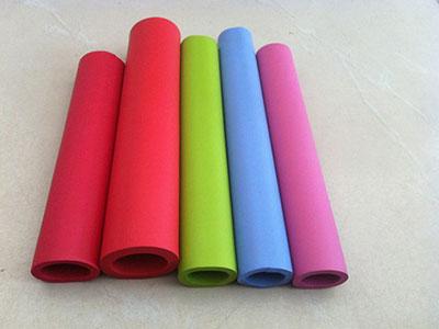 彩色橡塑发泡管