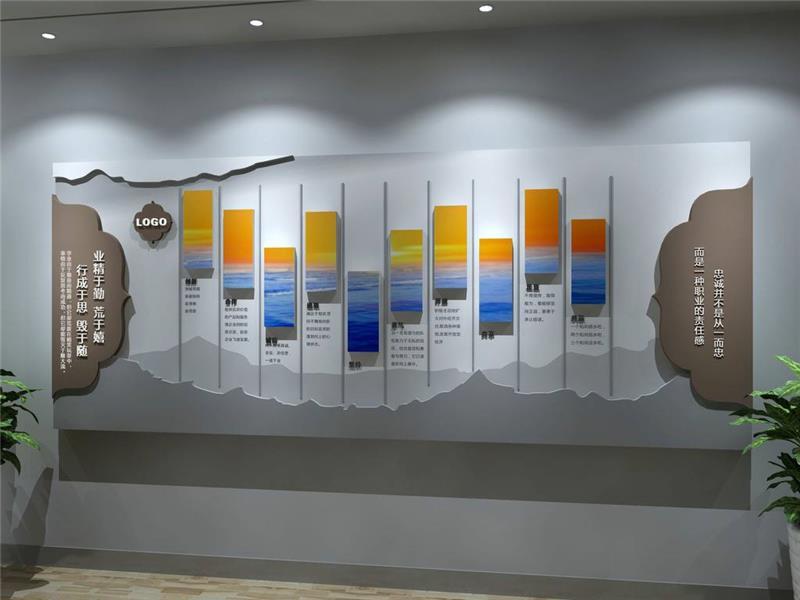 成都公司形象墙设计