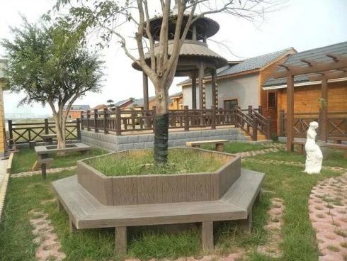 仿木围树凳