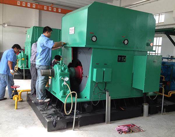 大型电机修造