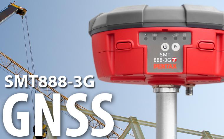 PENTAX 宾得 多星高精度SMT888-3G GNSS