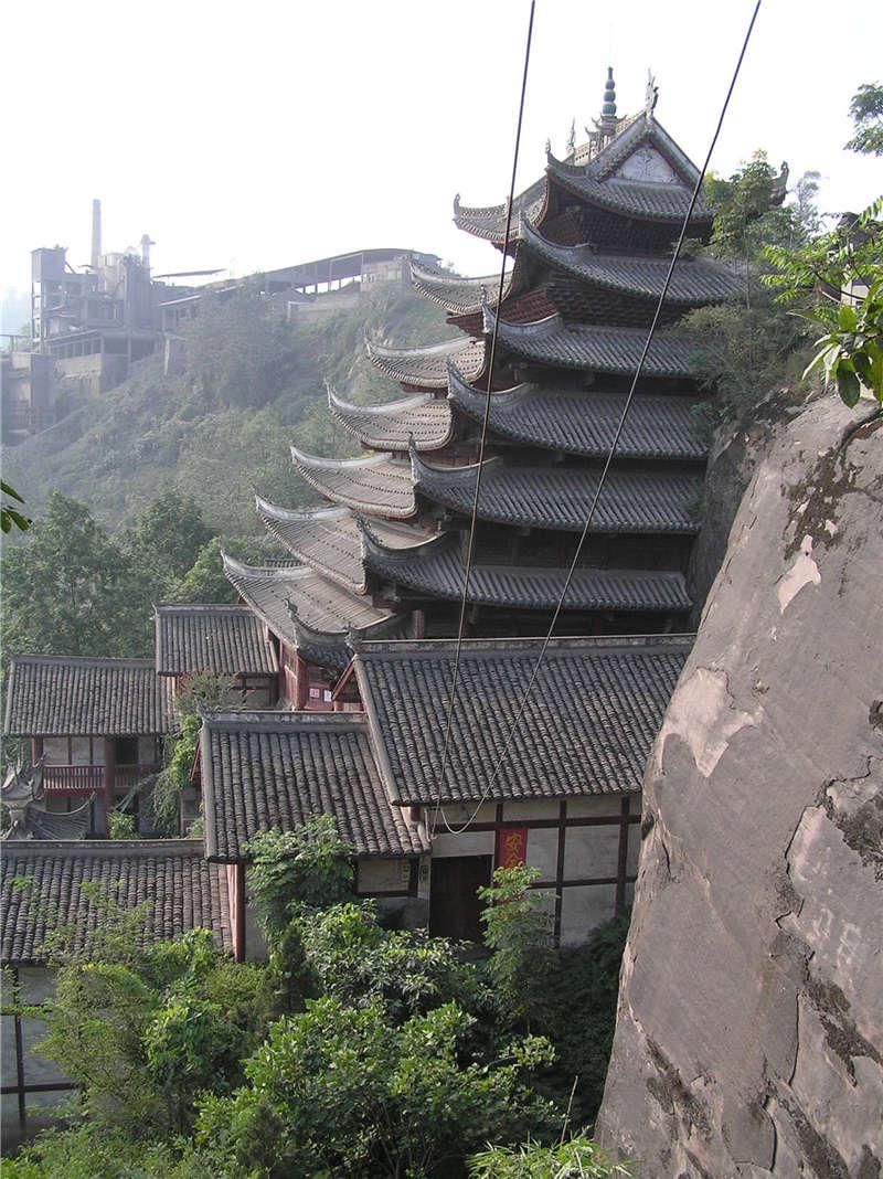 江津石门大佛寺