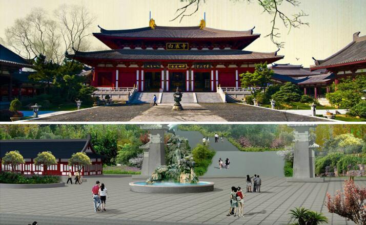 观音文化城白雀寺