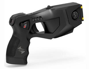 虎鲨TX100智能脉冲远距离电击防暴器