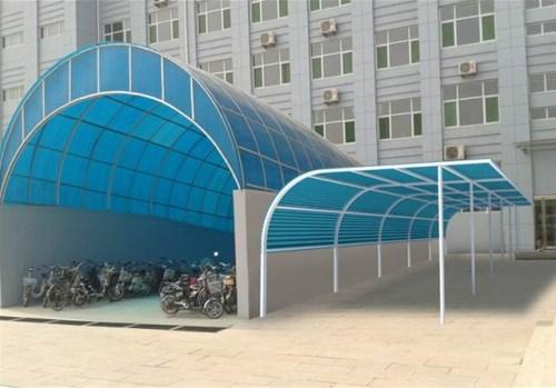 武汉阳光板车棚厂家
