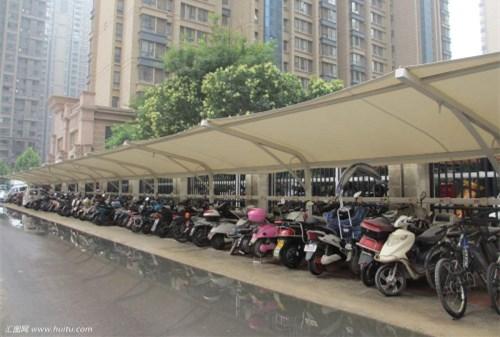 武汉摩托车车棚多少钱
