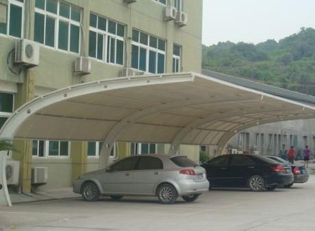 膜结构车棚加工