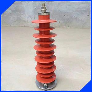 HY5WS-17/50 10KV金属氧化锌避雷器(带脱离器支架)