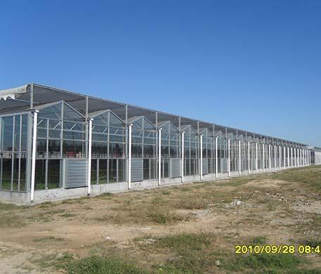 文络式智能玻璃温室