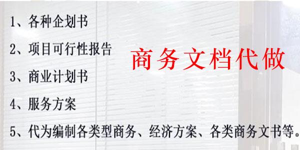 安顺贵阳商务文档代写