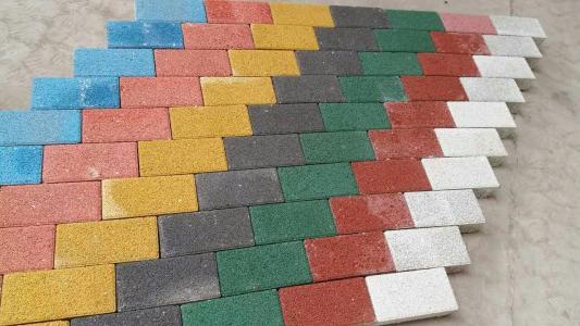 遵義彩色透水磚