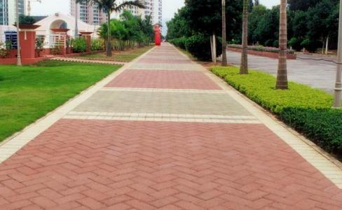 贵阳人行道透水砖