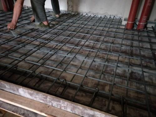 江汉钢结构隔层加工