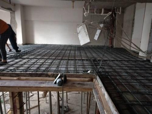 江汉钢结构隔层加工厂