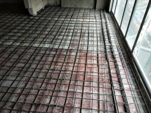 江夏现浇筑混凝土楼板