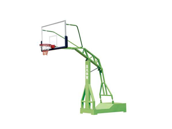 凹箱式仿液压篮球架