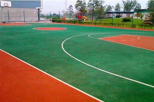 丙烯酸材料篮球场