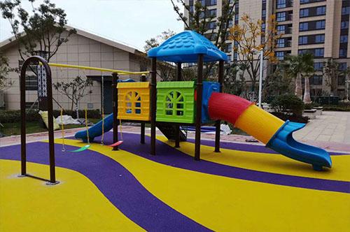 社区儿童游乐场地