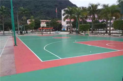 VWIN娱乐城硅pu篮球场