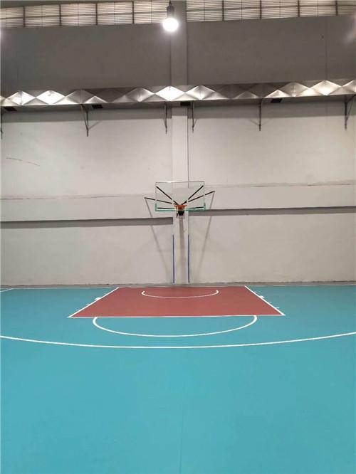 贵阳篮球架安装