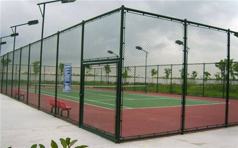 标准篮球场围网